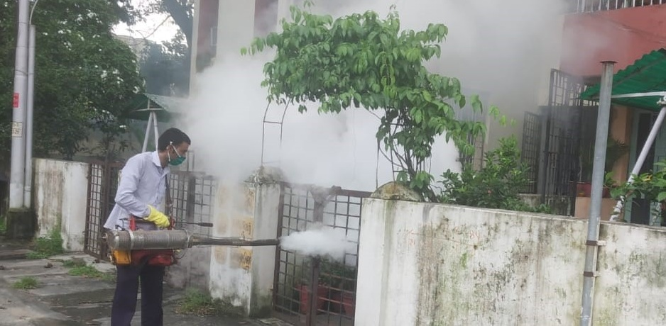 NCL continuously sanitizing workplaces residential complexes