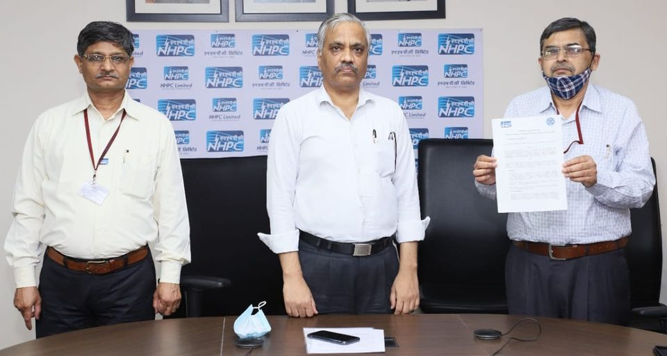 Shri Abhay Kumar Singh taken over as CMD of NHPC