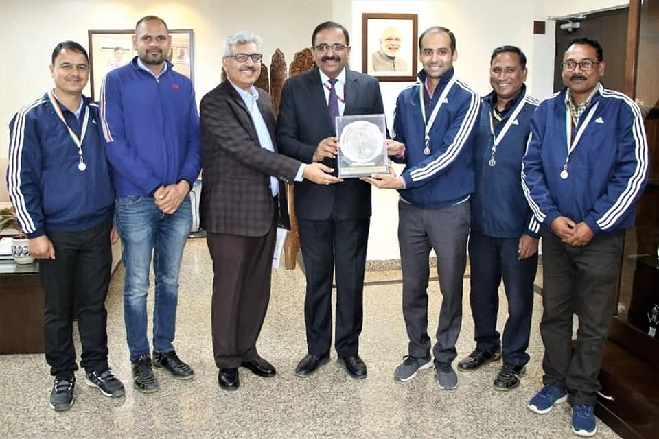 NHPC secured 3rd position in 24th inter CPSU volley ball tournament