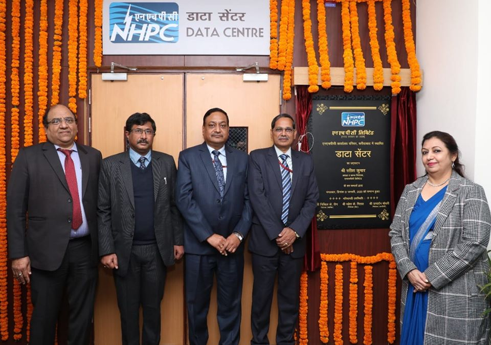 NHPC CMD inaugurated state of art data centre