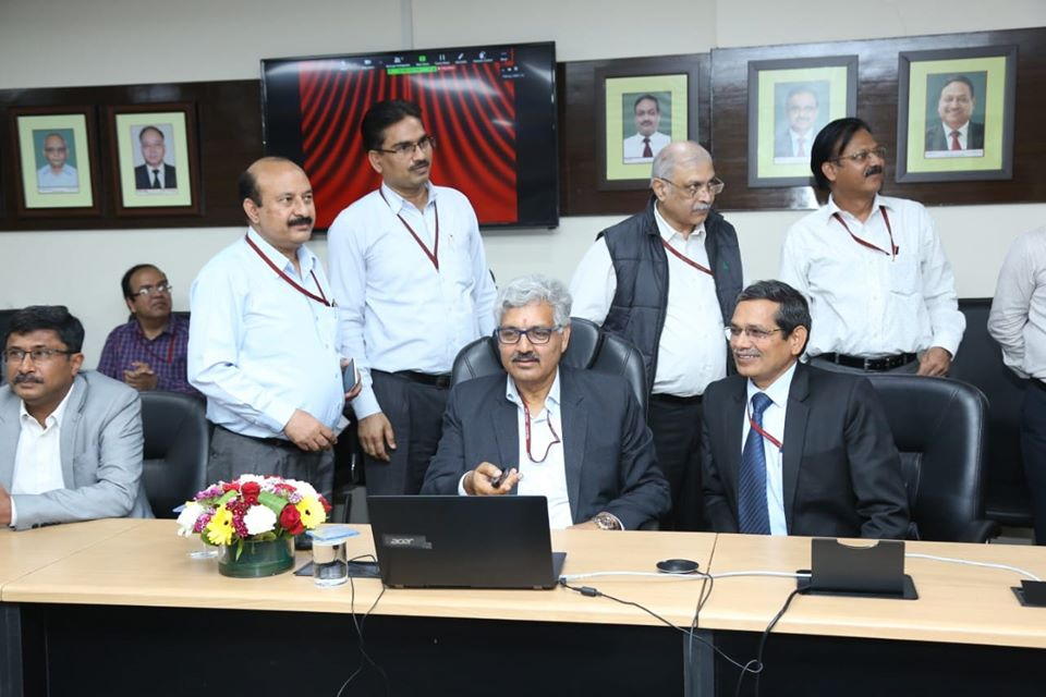 Shri A. K. Singh CMD NHPC Inaugurates Remote Operation Of TLDP-III And TLDP-IV