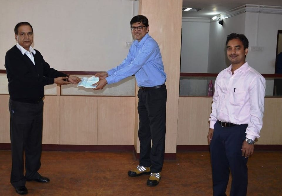 NHPC Contributes Rs. 10 lakhs For Chief Minister Relief Fund