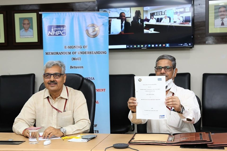 NHPC signs MoU with HIDCL