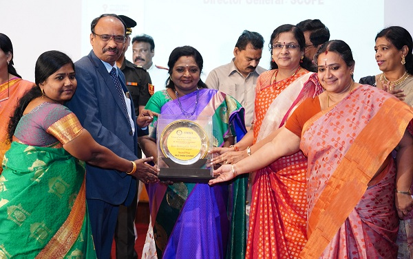 NLCIL conferred with best recognition award for WIPS