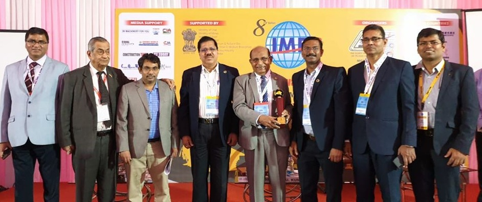 NMDC  received an award for innovative exhibiting Pavillion under large stall category