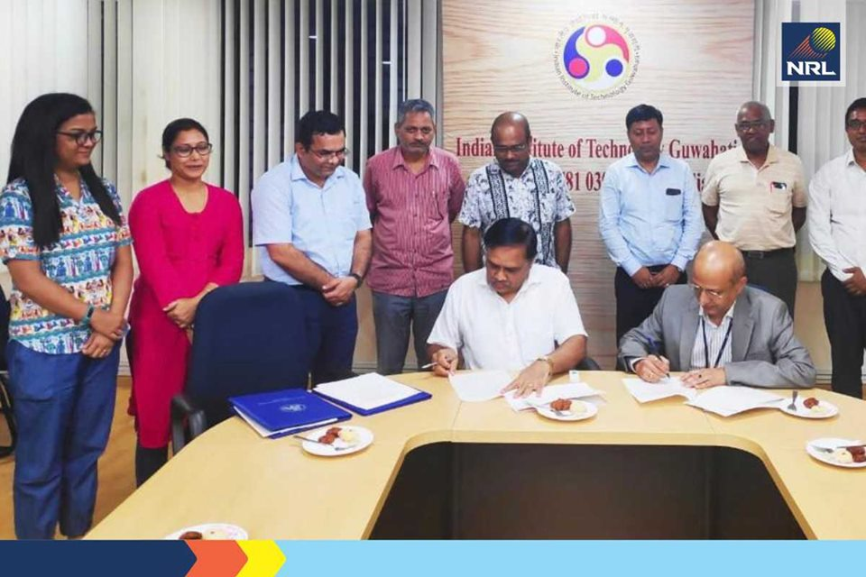 Numaligarh Refinery Limited joins hands with IIT-Guwahati