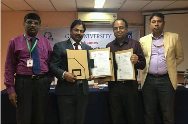 NRDC signed MOU with GIET University