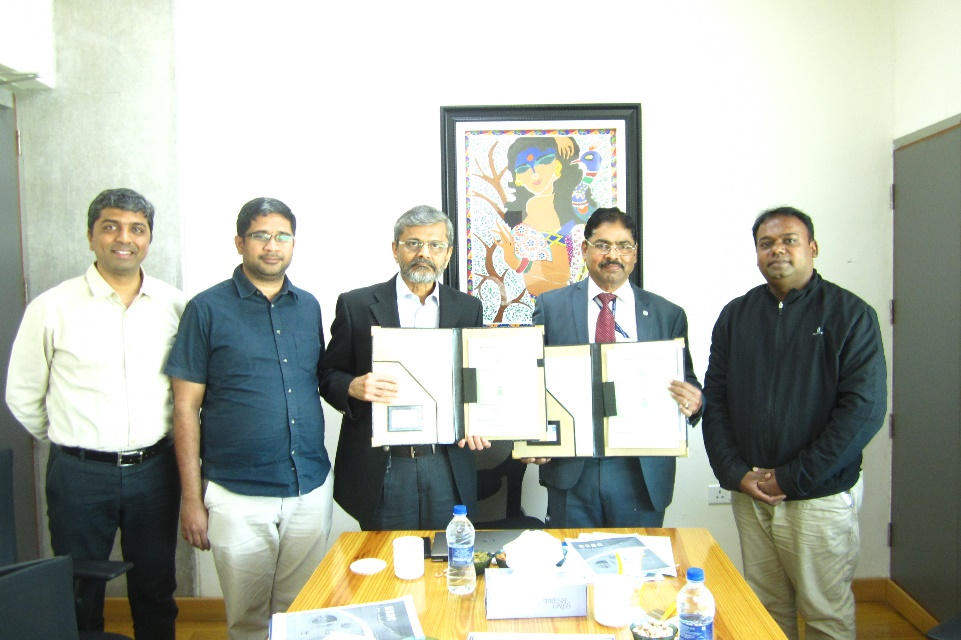 NRDC Inks MOA with Indian Institute of Technology Hyderabad for Commercializing IPs And Technology