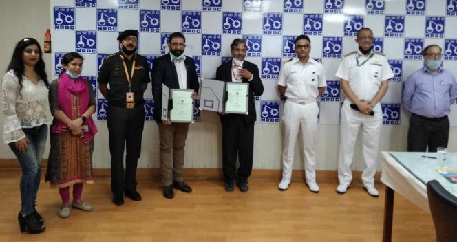 NRDC licenses Nav-Rakshak PPE suit manufacturing know how to Indian Garment Company