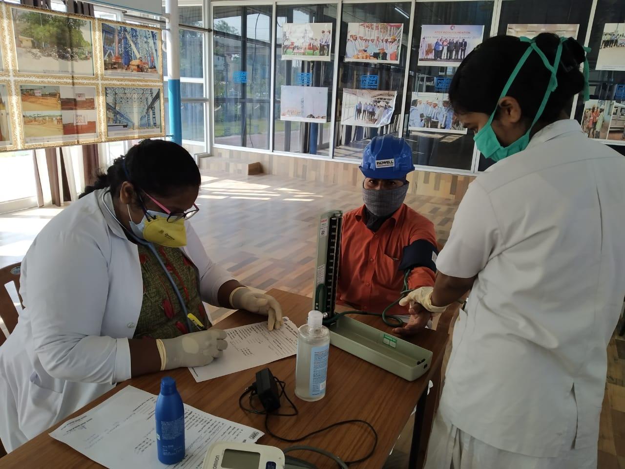 Construction activities resumed at NTPC Telangana