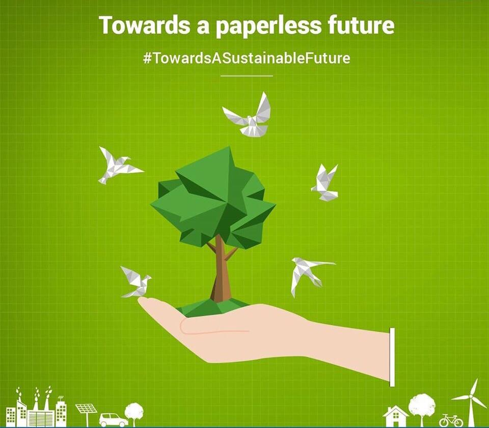 NTPC saved 3.3 crore paper  equivalent to 4000 fully grown trees