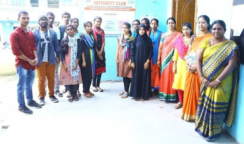 NTPC Incubating Integrity Clubs