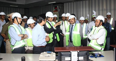 Secy MOEF and CC visits NTPC Dadri
