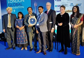 NTPC bestowed with the golden peacock award for sustainability 2019