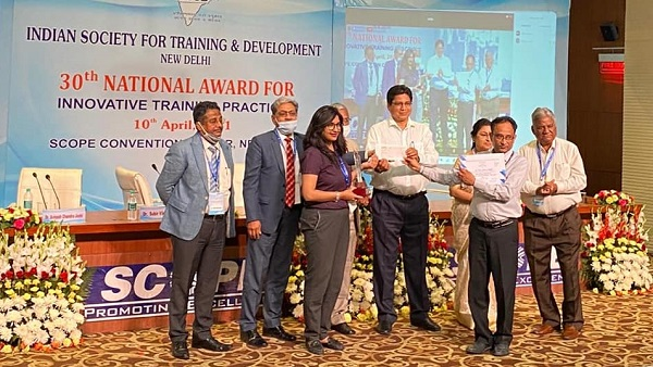 NTPC Awarded for Innovative Training Practices by ISTD for 2 years