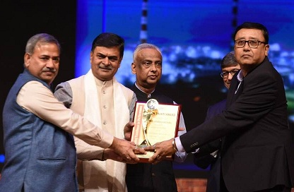 NTPC Vindhyachal bags the NTPC Swarn Shakti Award 2018-19 for HR CSR and Hospital Services