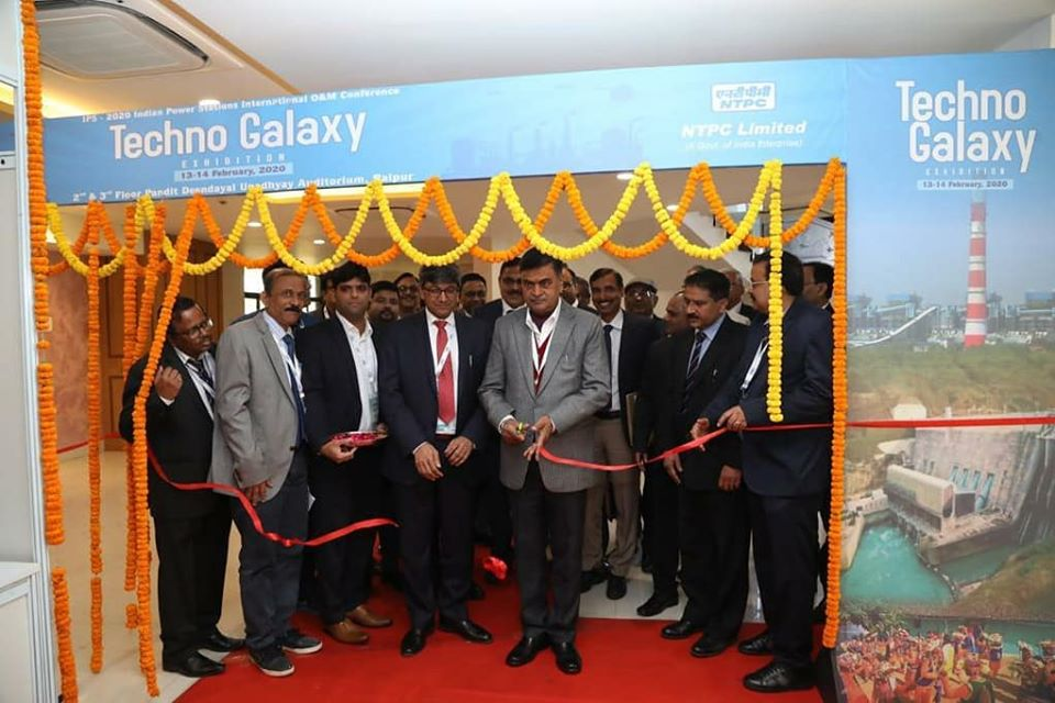 Shri R K Singh inaugurates Techno Galaxy at IPS 2020