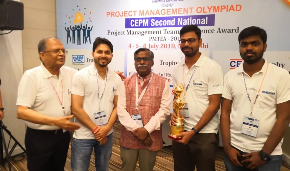NTPC Lara Wins National Project Management Team Excellence Award