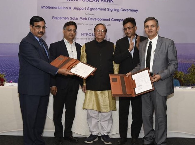 NTPC will develop the solar projects in Jaisalmer