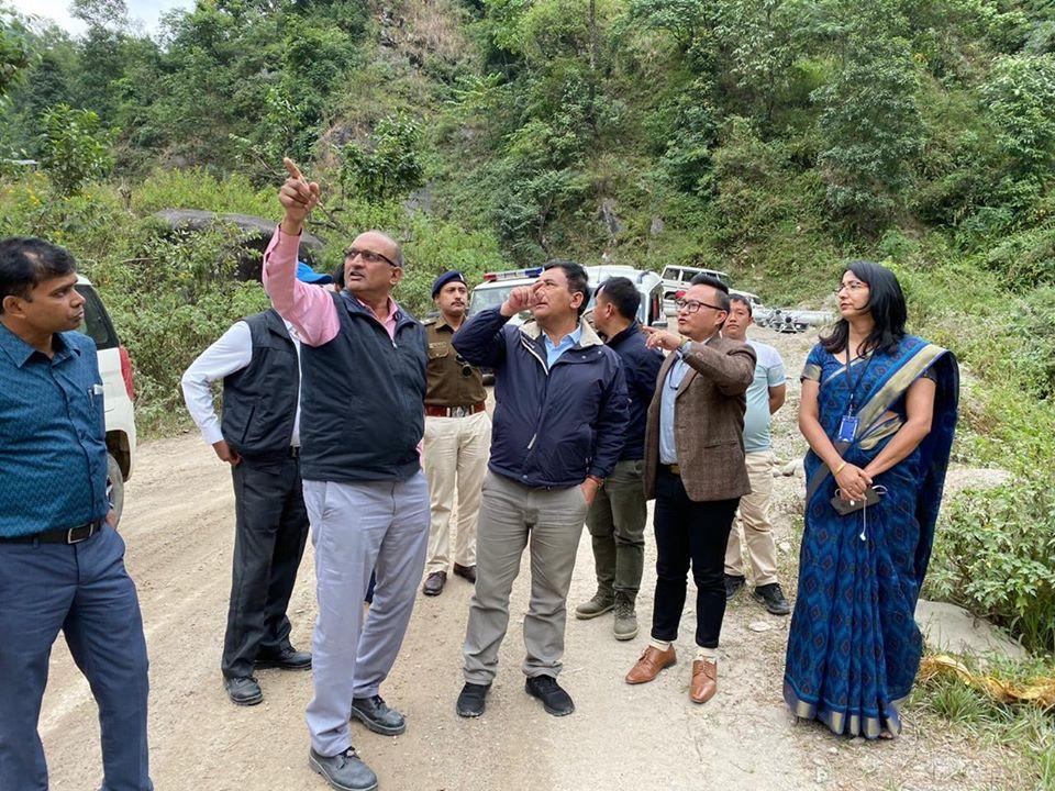 Shri Mingma Norbu Sherpa visited NTPC