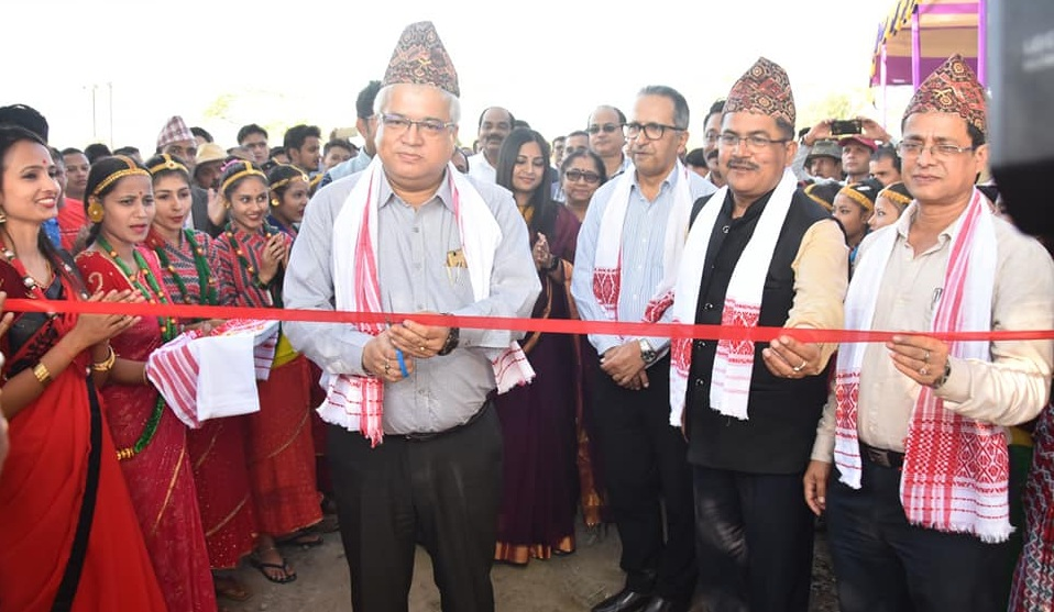 Shri Pranjit Deka chief executive OIL inaugurated a model commercial nursery