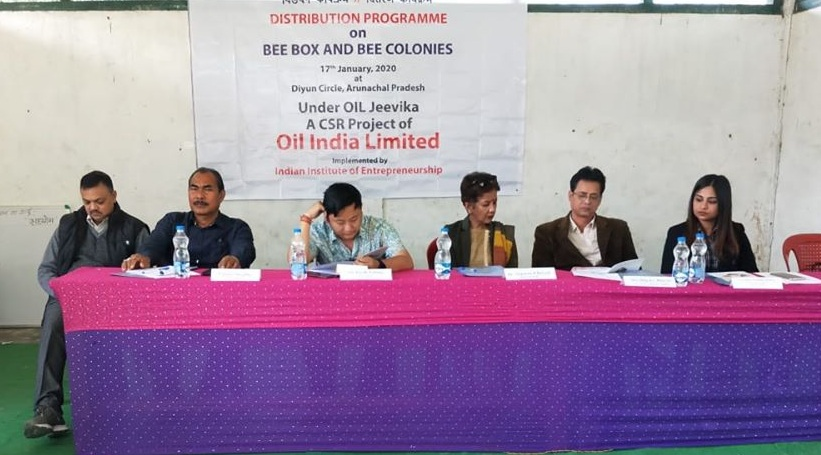 Oil India Limited organised distribution programme
