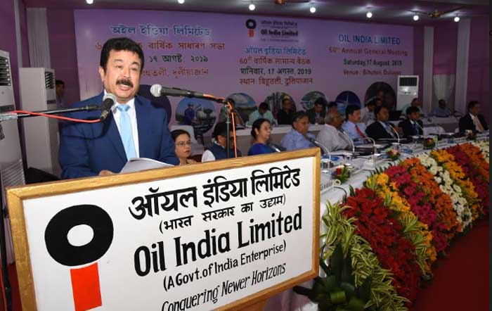 Oil India Limited holds its 60th Annual General Meeting at Headquarters in Duliajan Assam