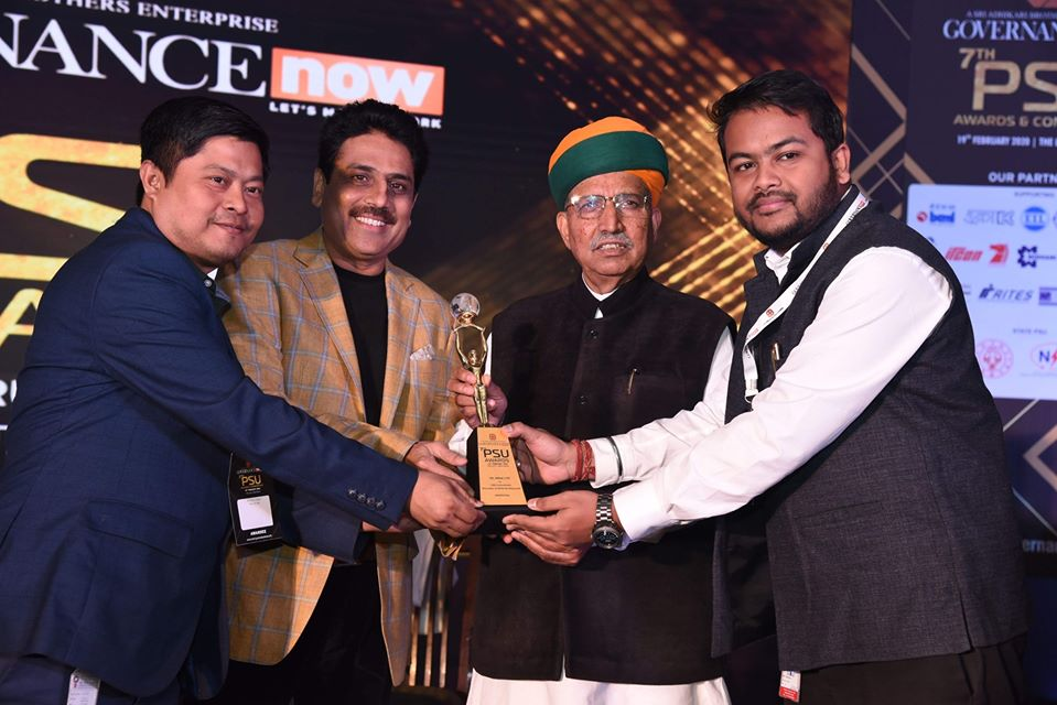 Oil India Limited Received 7th PSU Awards