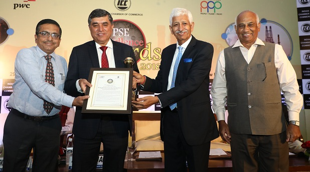 ONGC is the Best in Operational Performance ICC PSE Excellence Awards 2018