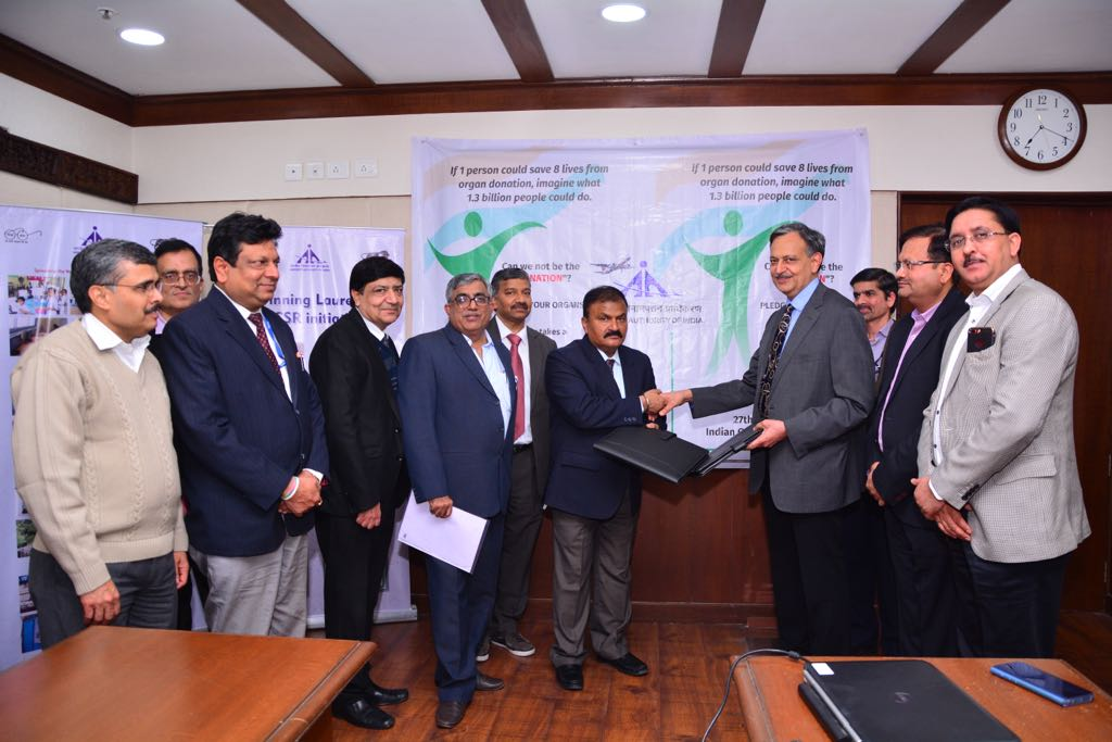 Airports Authority extends financial support to needy Patients  for Liver Transplantation