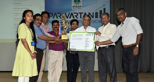 RINL Recognizes Performers Under Project Parivartan