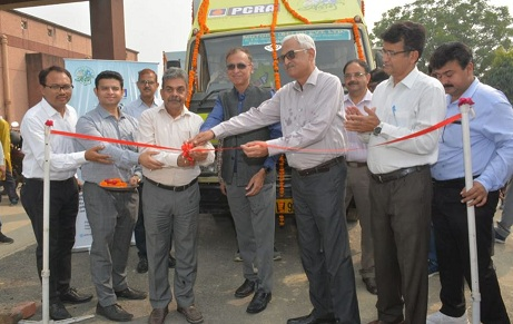 PCRA Publicity Van was flagged off from KVK Lucknow