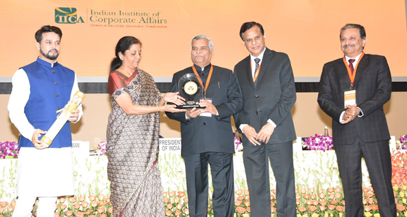 PFC bags National CSR Award