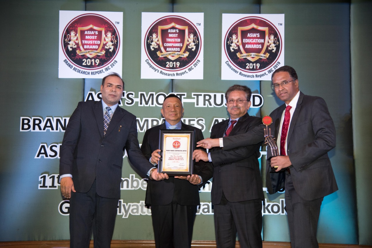 PFC conferred with ASIAs most trusted companies award 2019  by IBC