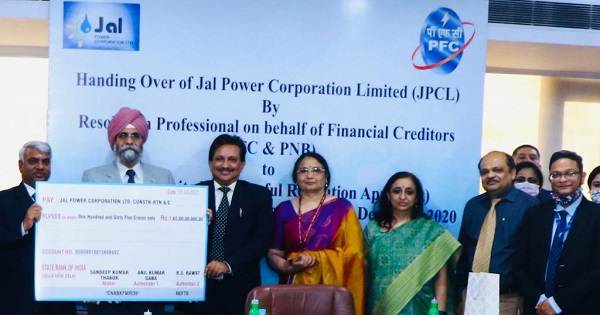 PFC completes successful resolution of 120 MW Rangit-IV HEP of Jal Power Corporation Ltd,handover to NHPC