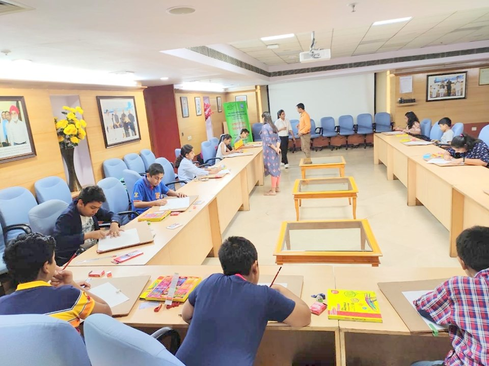 PFC organized a Painting Competition