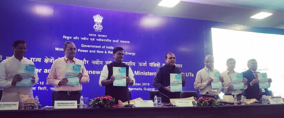 Raj K Singh India released the State Distribution Utilities - 7th Annual Integrated Rating Booklet