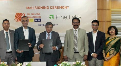 Bank of Baroda Enters into MoU with Pine Labs