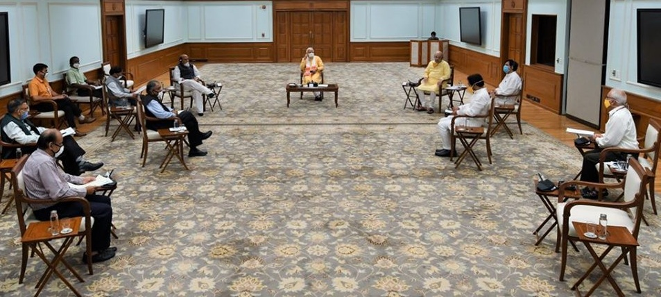 PM Narendra Modi chaired a meeting of the NDMA