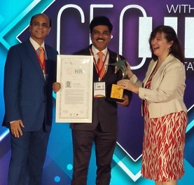 POSOCO CMD Awarded CEO with HR Orientation Award