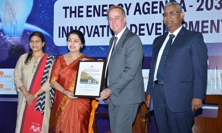 Director HR of POSOCO Awarded with Excellence in HR Award
