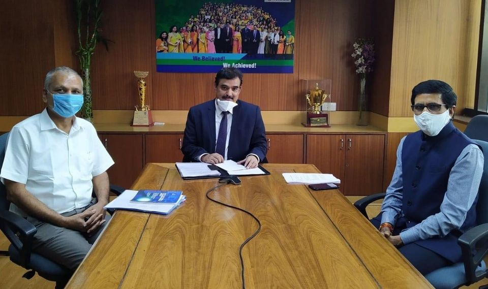 POWERGRID signs an MoU with ACTREC