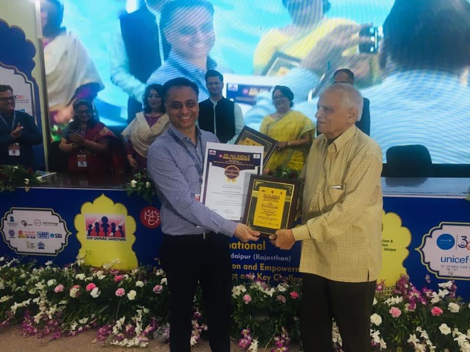POWERGRID awarded for Improving Rural Livelihoods through Farmer-centric Integrated Watershed Management
