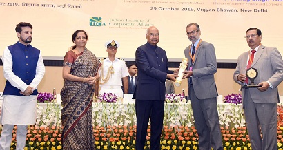 POWERGRID conferred with Corporate Award for Excellence in CSR