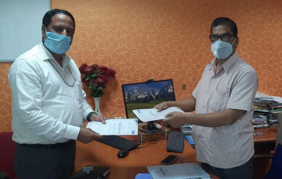 Powergrid signed an MoU with NHAI