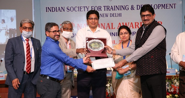 PowerGrid conferred with 3rd position at the 29th National Awards for Innovative Training Practices