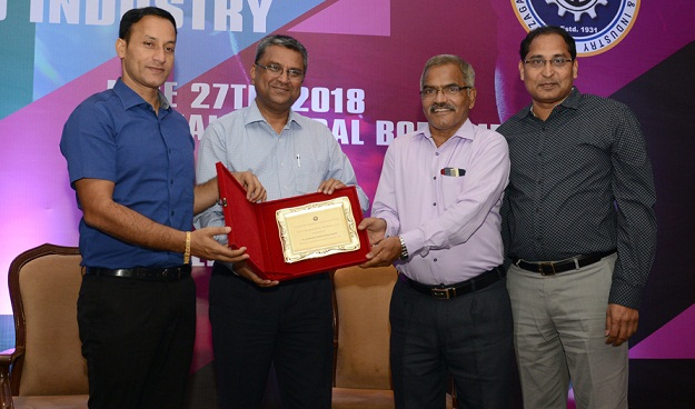 District Collector Presents Award to RINL under CSR