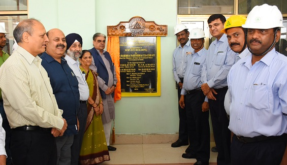 State Minister for Coal and Mines Inaugurates Site office for NLC New Thermal Power Project