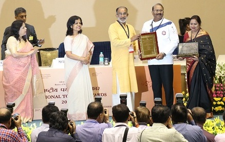 The Ashok awarded with National Tourism Award