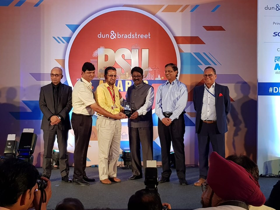 RailTel bagged the Dun and Bradstreet PSU Award 2019 in the Telecommunications and Information Technology services.
